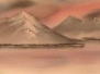 Landscape Oil Paintings In The Bob Ross Style