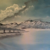 Landscape - Oil Paintings - Blue Winter - © Russell Collins