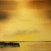 Landscape - Oil Paintings - Moonlit Lake 02 - © Russell Collins