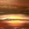 Landscape - Oil Paintings - Moonlit Lake 03 - © Russell Collins