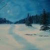 Landscape - Oil Paintings - Silent Night 02 - © Russell Collins