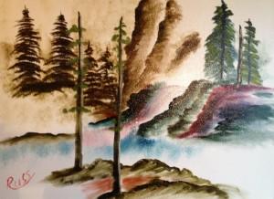 Oriental waterfall