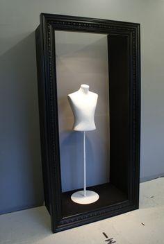Bespoke Wedding Dress Frame - Russell Collins Art