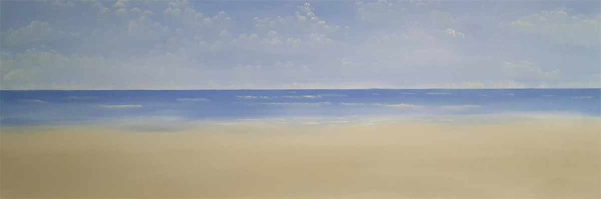 150cm x 50cm Beach Commission