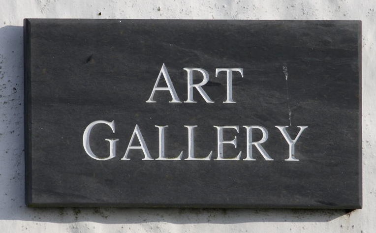 Art Gallery Sign